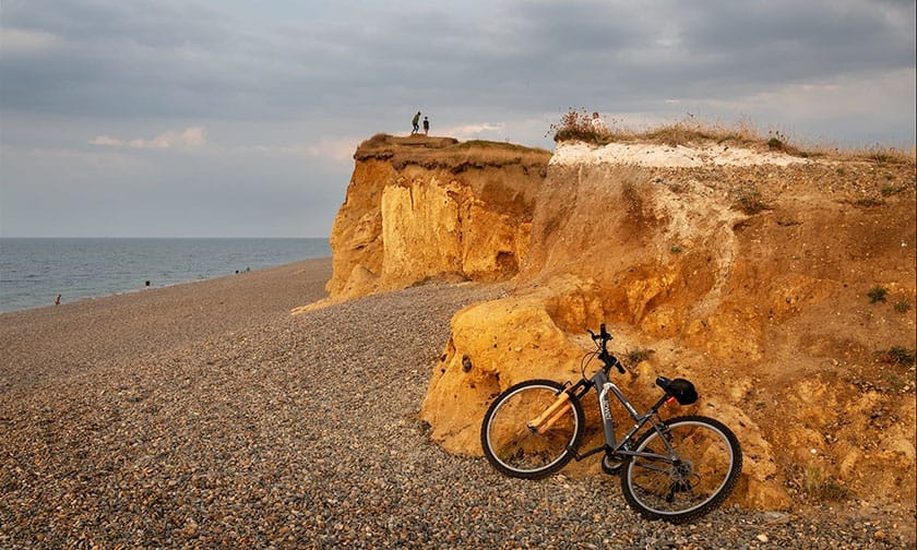 Holidaying at Weybourne by Tony Luxton LRPS