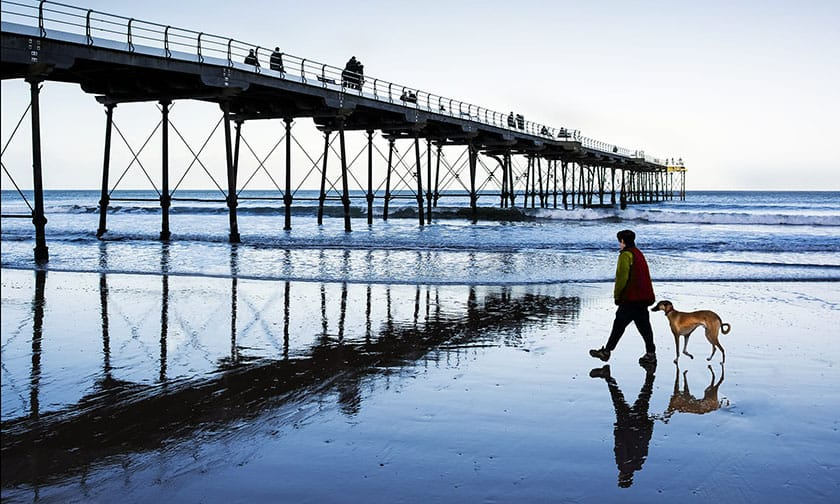 Saltburn Pier by Andrew Beetson